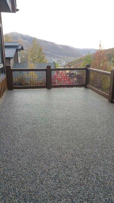 Rock Epoxy in Salt Lake City, Utah